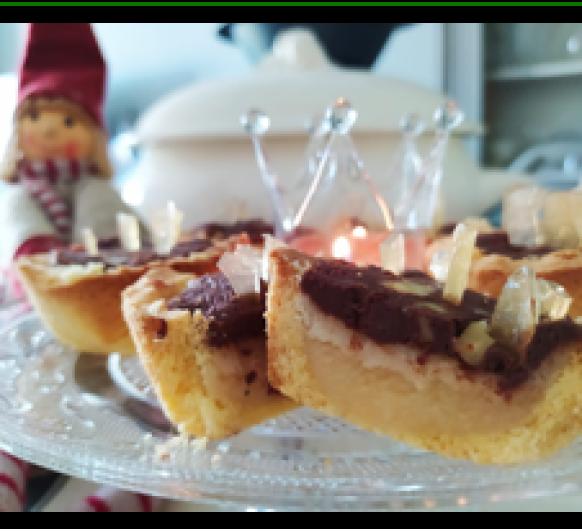 Tartaletas Tres Reyes Magos de Jon Salsamendi