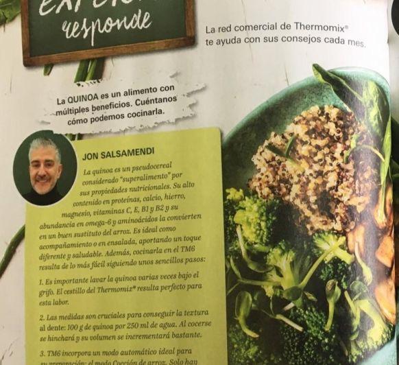 La quinoa la perfecta aliada de Thermomix®
