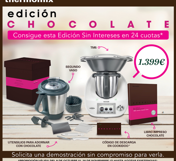 EDICION CHOCOLATE AL 0% intereses