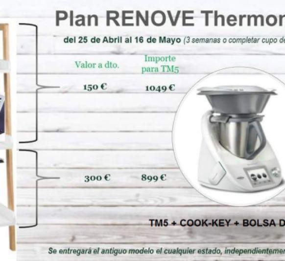 La mejor ocasión para renovar tu Thermomix®