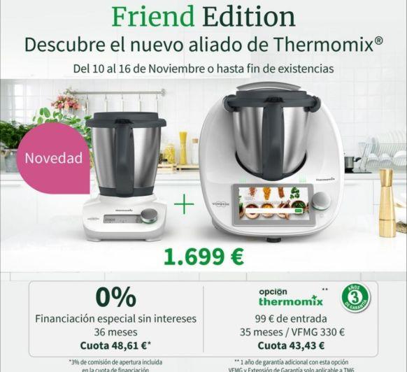 Últimos días para aprovechar las promociones de Navidad de Thermomix® 6