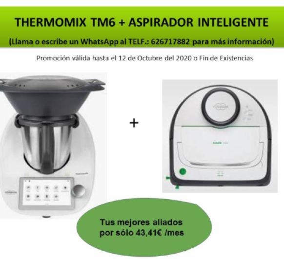 LOS MEJORES ALIADOS EN TU DIA A DIA (Thermomix® Y ASPIRADOR)