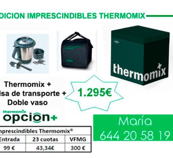 Ofertón Thermomix® doble vaso y bolsa de transporte, Edición Imprescindibles