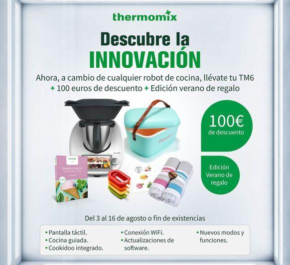 Descuento de 100€ en la compra de tu Thermomix®