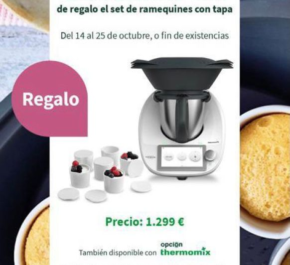 Thermomix® te regala 6 ramequines