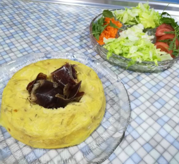 Tortilla de patatas en Varoma