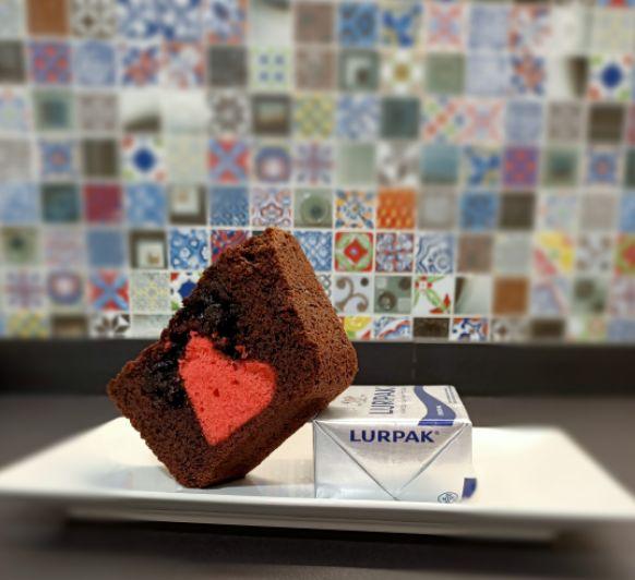 Cake con corazón para San Valentín con Thermomix®