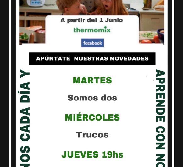 Actividades Thermomix® de martes a viernes