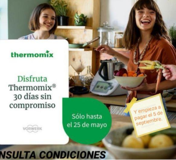Disfruta del Thermomix® 6 un mes en casa y empieza a pagar el 5 de septiembre